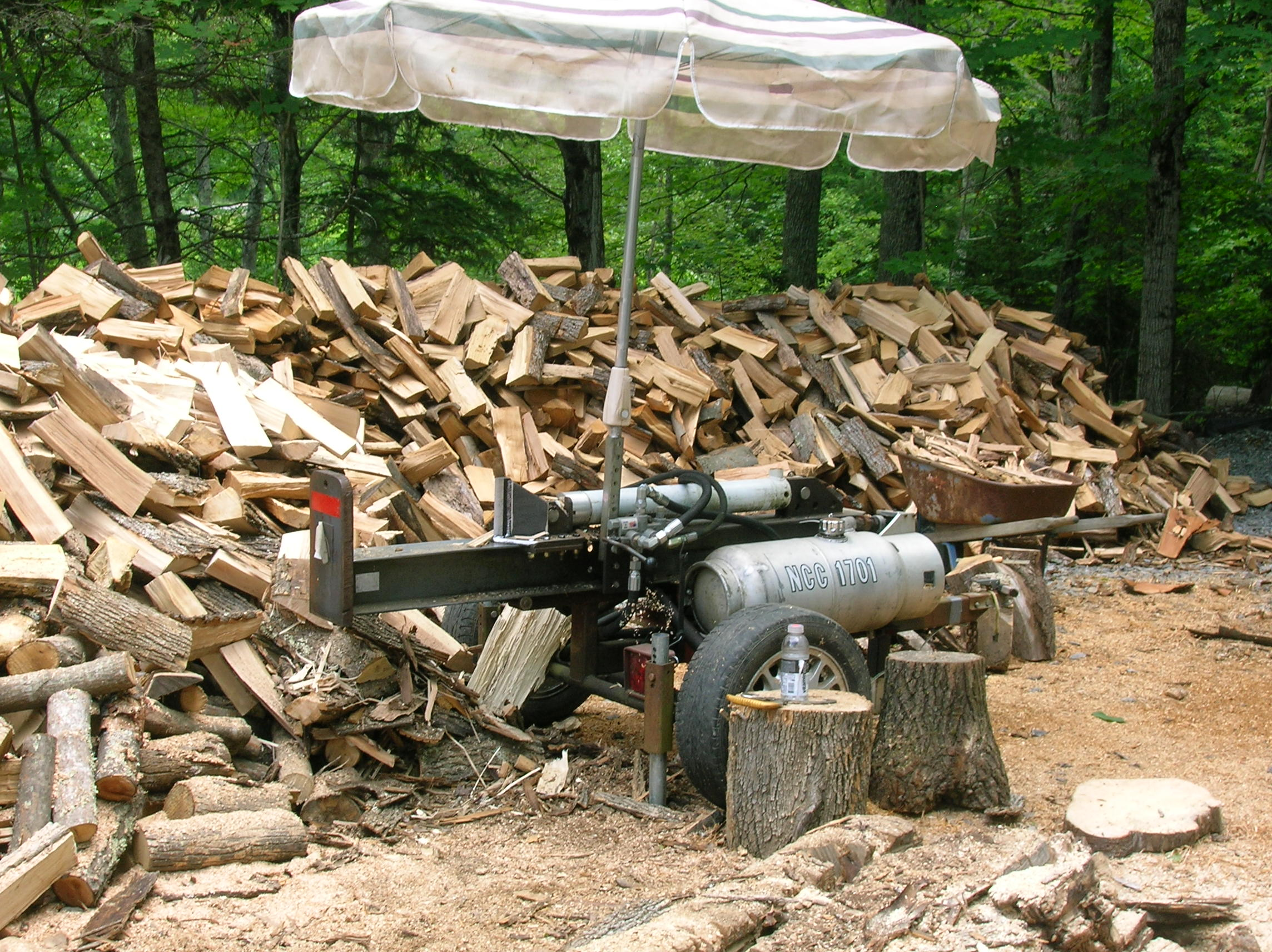 Building A Small Log Splitter
