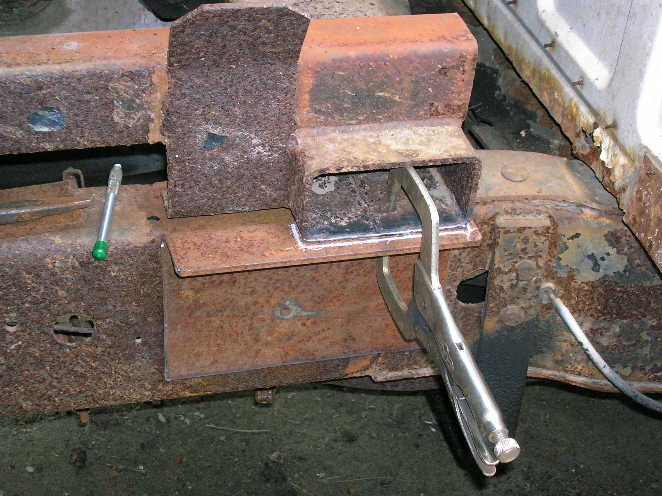 bracket test fit