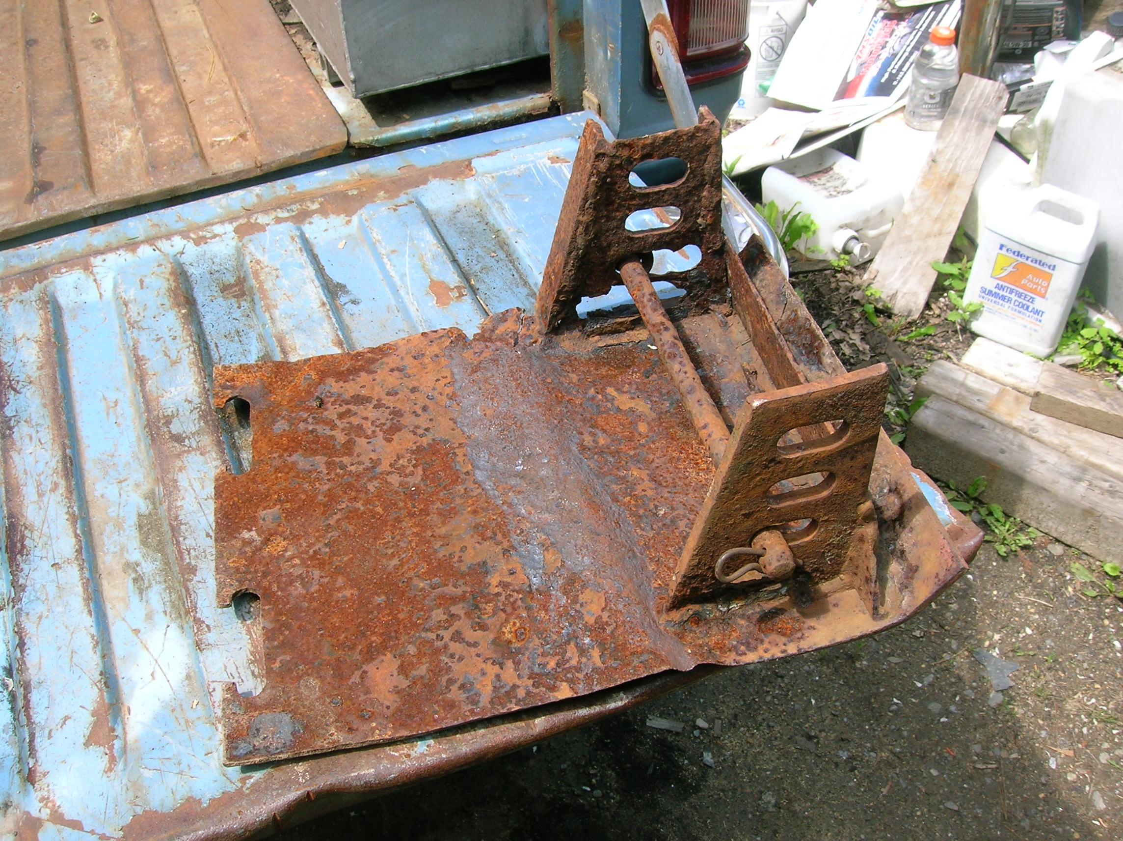 damaged skid