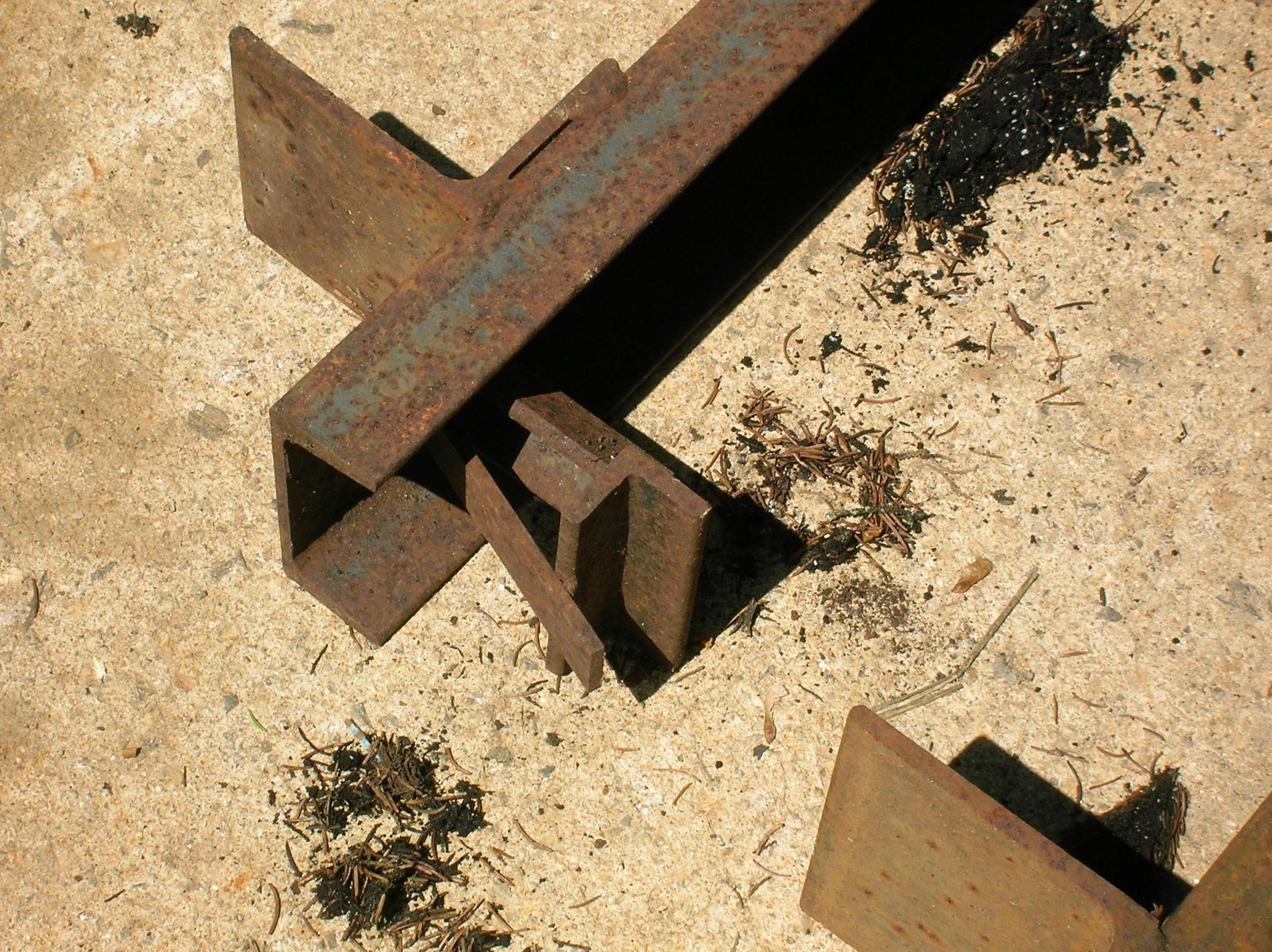 frame jig front support